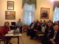 Творческий вечер Миясат Муслимовой в Музее Л.Н.Толстого на Пречистенке 19 июня 2014г.