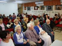 Творческий вечер в Муниципалитете Акко, Израиль. 16 апреля 2015г.