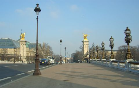 фонари Парижа