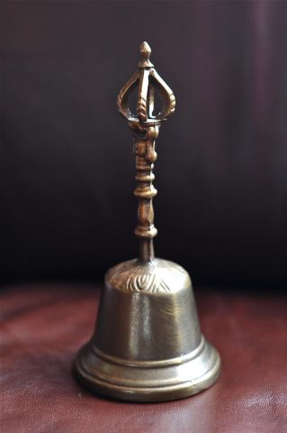 Большой буддийский колокольчик