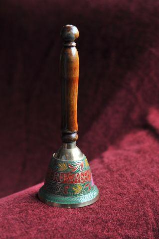 Кабинетный колокольчик «Иерусалим» с деревянной ручкой, Израиль
