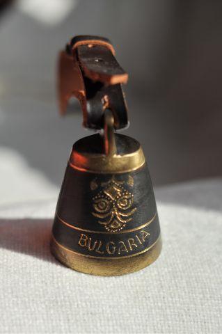 Колокольчик с кожаным ремешком ( язык – в виде колокола), Болгария