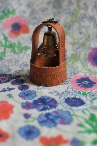 Колокольчик в берестяном туеске, Великий Новгород