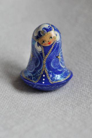 колокольчик-неваляшка «Снегурочка» из Костромы