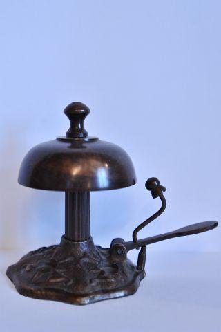 Настольный колокольчик с боковым звоночком, Италия