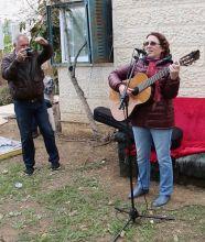 Праздник в Текоа, Израиль  23 апреля 2015 г.