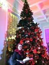 елка в Доме Пашкова