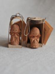 Пара ангелочков в коробочках, Литва